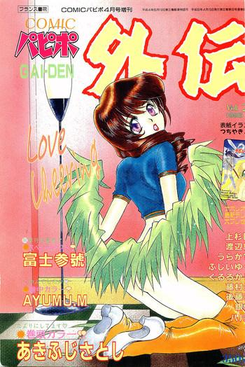 comic papipo gaiden 1996 04 vol 21 cover